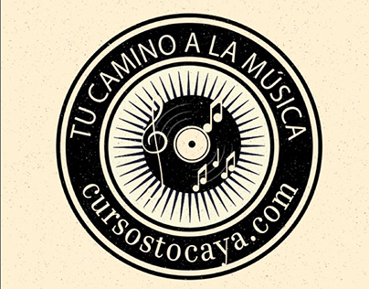 Logo para escuela de música