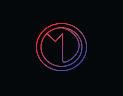 MD Letter Logo