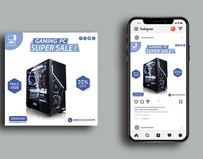 Instagram/Facebook/Social Media Post Design