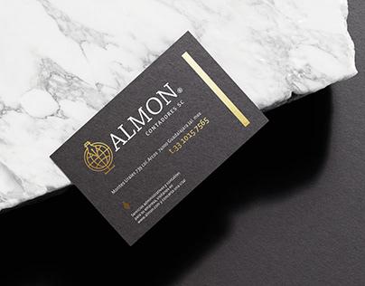 ALMON Contadores Brand Design