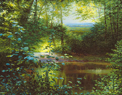 Landscape Painting portfolio 1 by David Crane