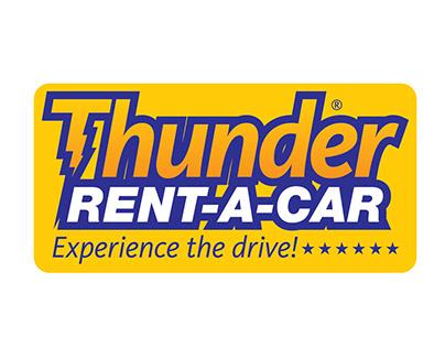 Thunder Rent-A-Car Branding