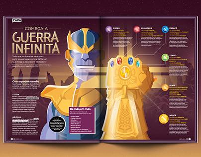 Começa a Guerra Infinita (Mundo Estranho Magazine)