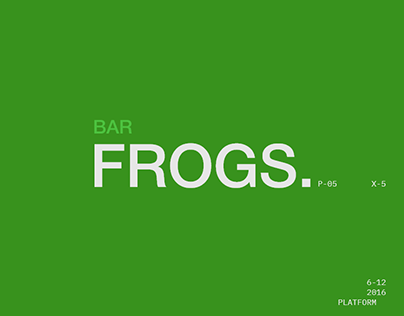 Bar Frogs: Search Platform For Restaurants & Events