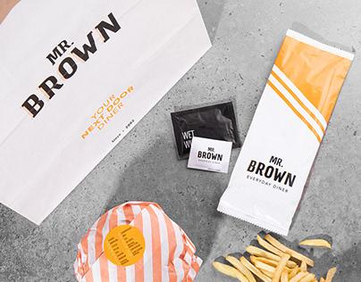 Mr Brown – Rebranding 2020