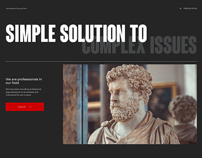 Eternal City law firm | Website