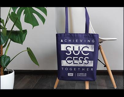 CAS INTERNATIONAL Custom Design Canvas Bag