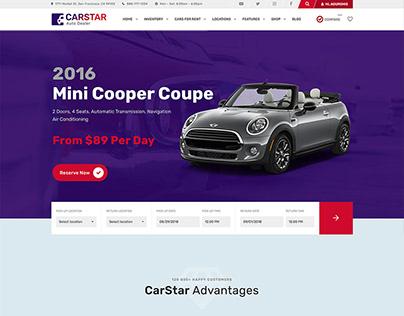 CarStar - Automotive WordPress Theme