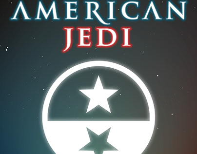 American Jedi - Documentary movie poster & branding