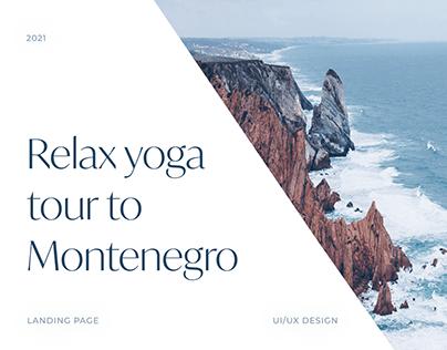 Relax yoga tour to Montenegro   Website