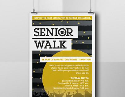 Senior Walk poster