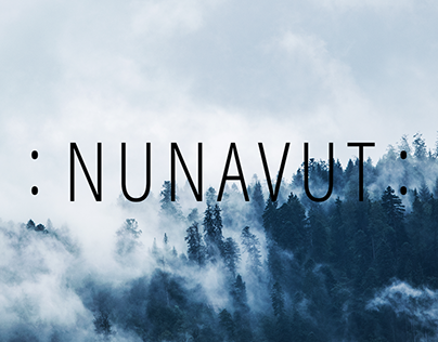 Nunavut's Clothing web design