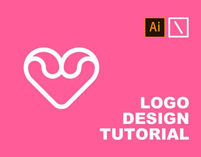 Heart Logo Design | Adobe Illustrator Tutorial