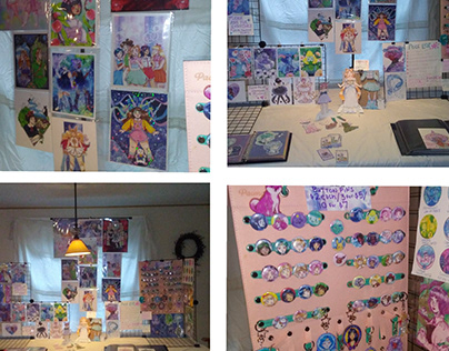 Convention Table Displays
