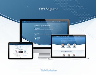 WW Seguros Web Redesign
