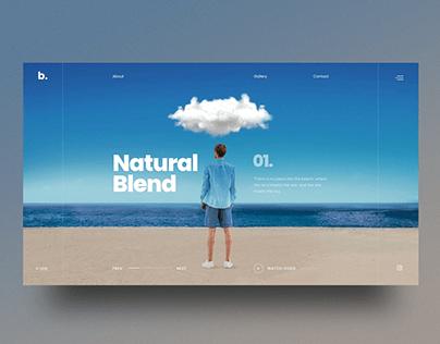 Motion Blur Portfolio Showcase Slider