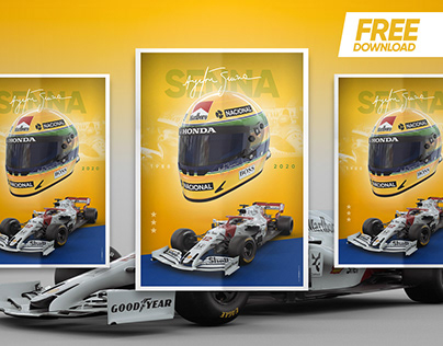 SENNA - Poster A3 & Wallpapers | FREE DOWNLOAD