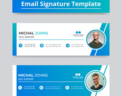 Email Signature Template Design | Email Signature