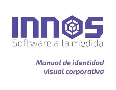 Diseño de identidad corporativa: INNOS