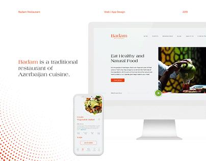 Badam Restaurant – Web/App Design