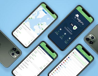 Seguru App - UX/UI • Product Design • Branding
