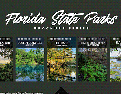 Florida State Parks: Collectible Brochure Series