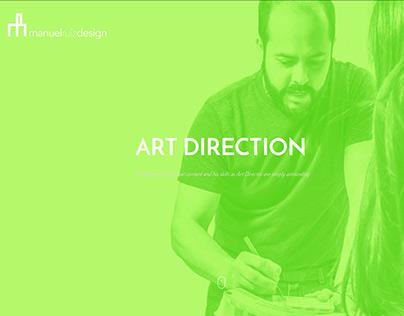 Manuel Ruiz Design's Website