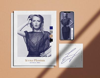 Iryna Plastum - Editorial Model