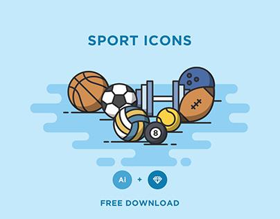 FREE - SPORT ICONS