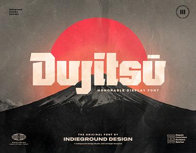 Dujitsu Free Font
