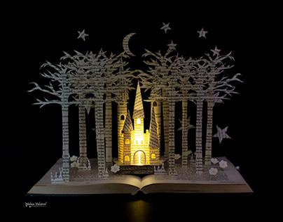 Fairytale Castle - Book Sculpture