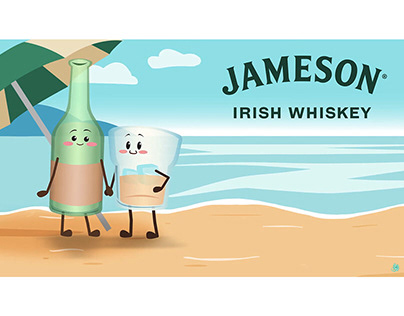 """Summer Love"" | Animation for Jameson Irish Whiskey"