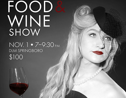 DLM Food & Wine Show 20th Anniversary Collateral