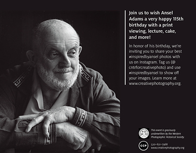 Ansel Adams Event Collateral