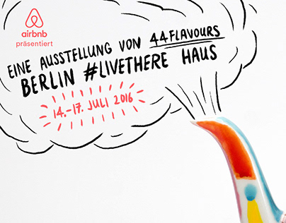 Airbnb — Berlin #LiveThere Haus