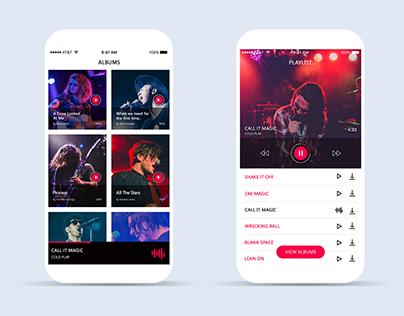 Music Band Application