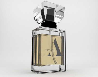 Packaging for Armand Perfume