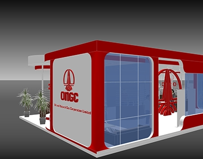 ONGC Stall 3D Visualization