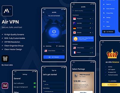 VPN App UI Kit