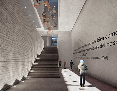 Public space, Monument and Memorial center (Thesis)