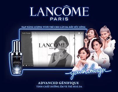 LANCÔME TVC - Art Direction