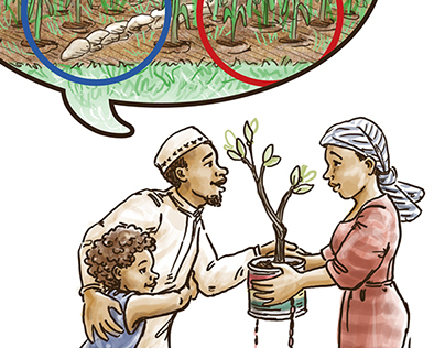Climate-Smart Farming in African Drylands wordless book