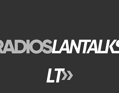 Radios Lantalks - Branding 2015-2016