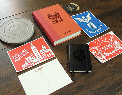 Man in The High Castle Packaging