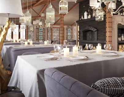 Restaurant in Simferopol city design by VITTA-Group