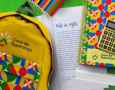 ONG Casa da Esperança - Identidade Visual