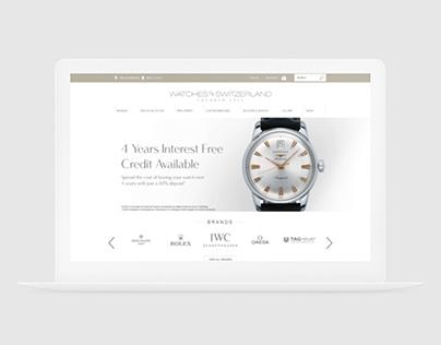 Watches of Switzerland | E-Commerce Magento