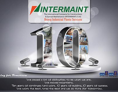 INTERMAINT 10 Years of Success