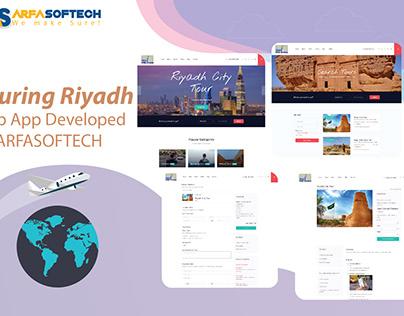 Touring Riyadh
