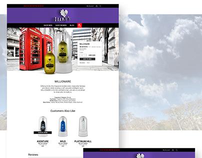 CJ Lasso Online Store Design